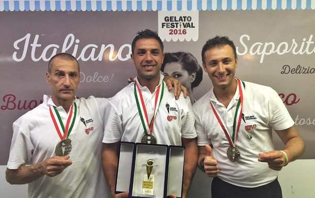 Eugenio Morrone vince il Gelato Festival 2016