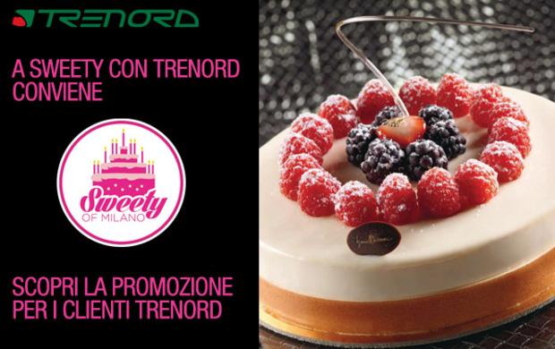 Vieni a SweetyofMilano con Trenord e ottieni un biglietto omaggio