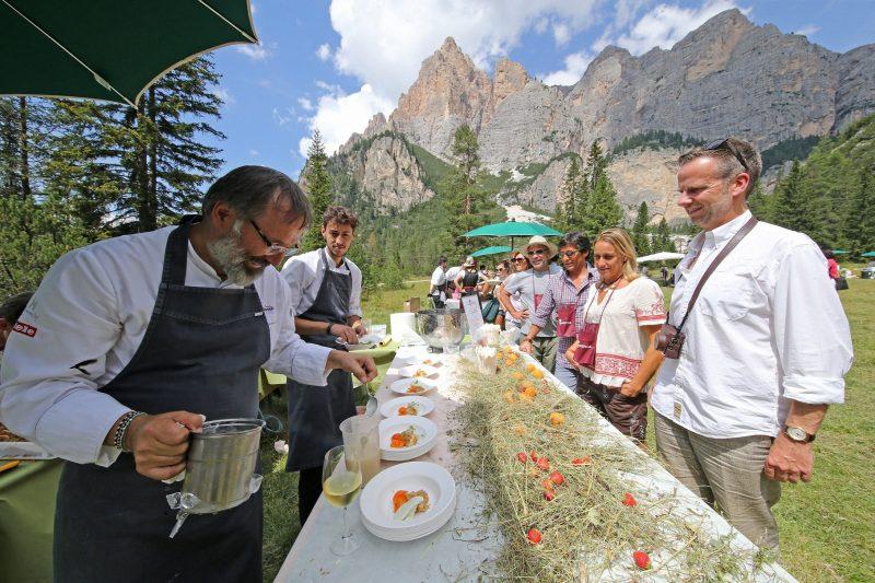La Dolomitica, il pic nic gourmet sotto le Dolomiti