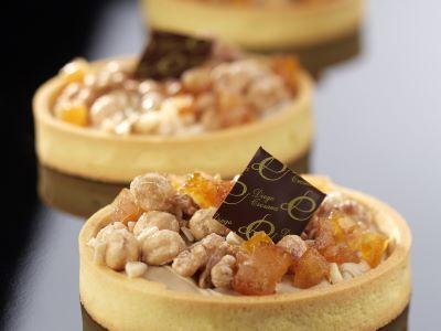 Crostata al cremino con frutta secca e candita