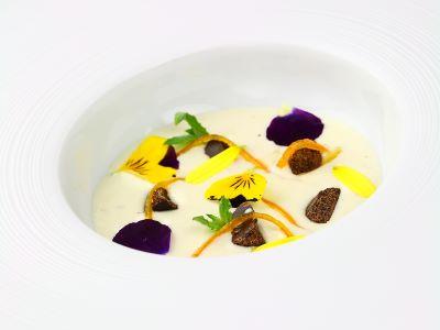 Gorgonzola, arance e cioccolato di Modica
