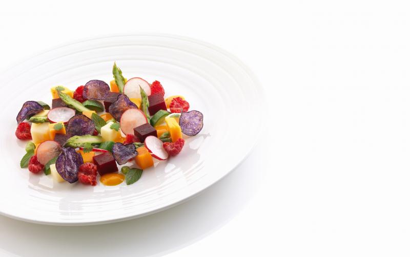 La frutta e la verdura marinate con Asti docg
