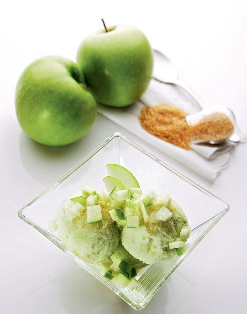Mantecato alla mela verde