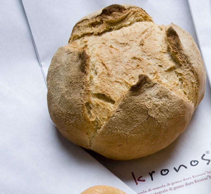 Pane con miscela qualità bio Kronos di Molino Grassi
