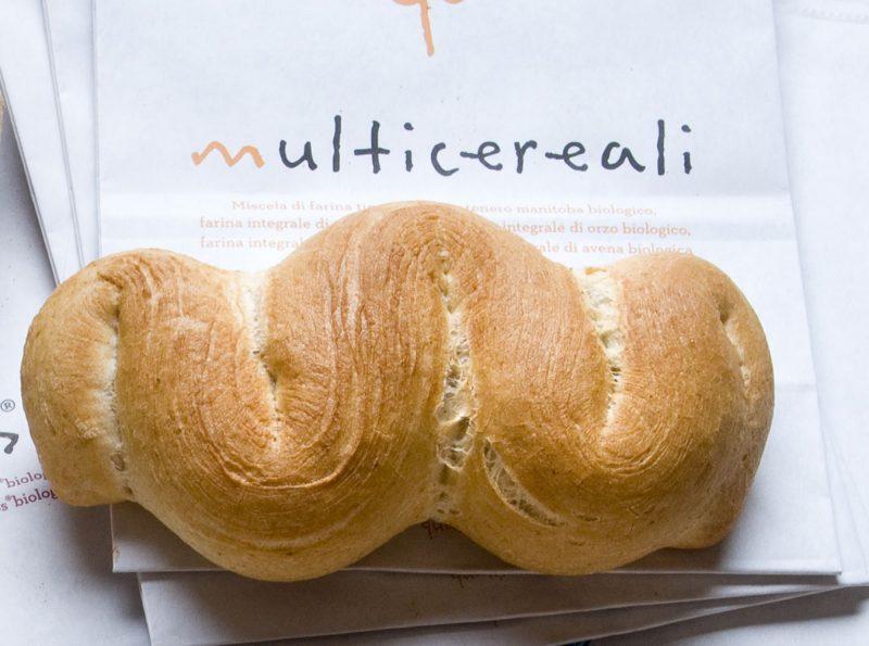 Pane con miscela qualità bio multicereali di Molino Grassi