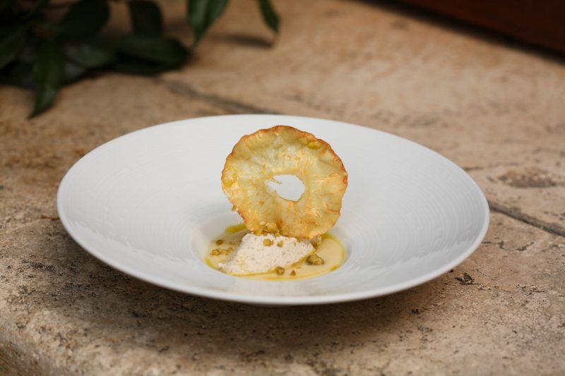 Patè di anguilla in salsa di sedano rapa