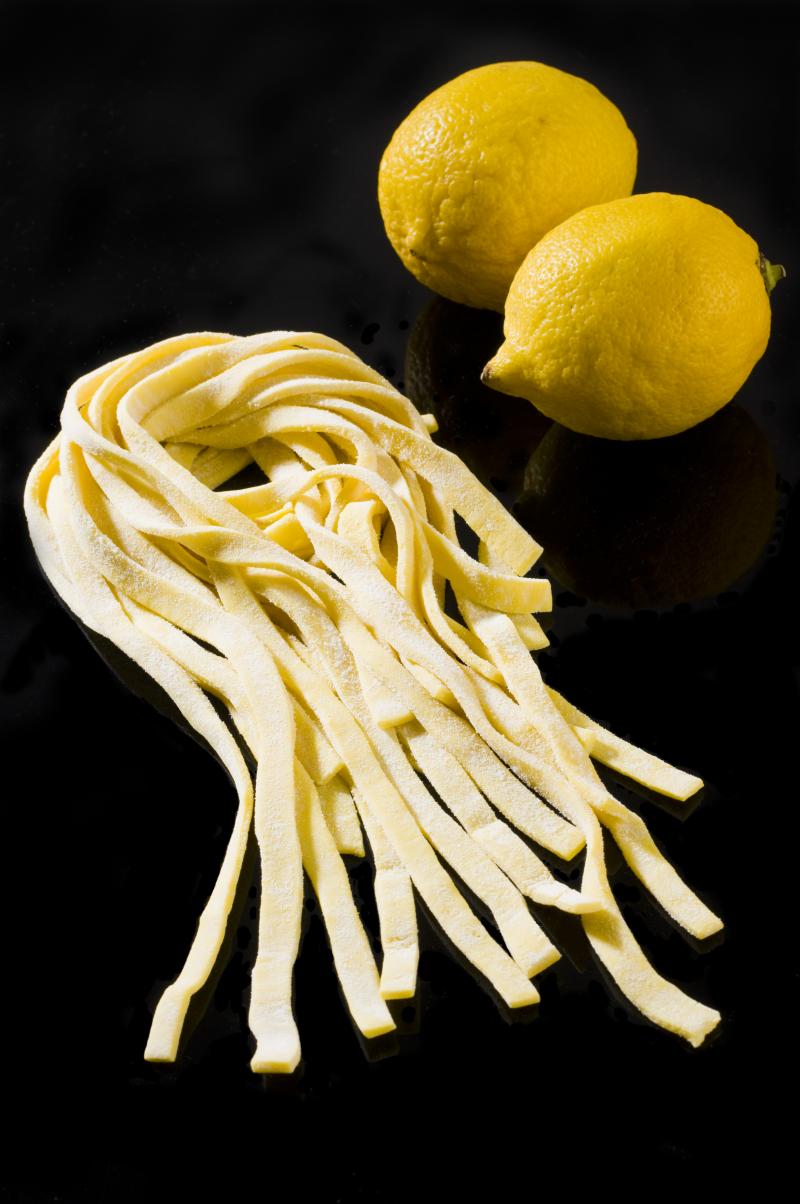 Tagliolini al limoncello