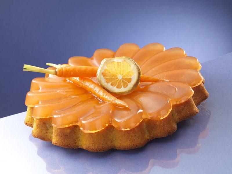 Torta di carote e arancio