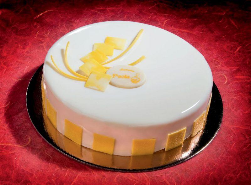 Torta limone e lampone