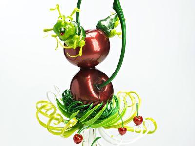 Zucchero artistico: ciliegie