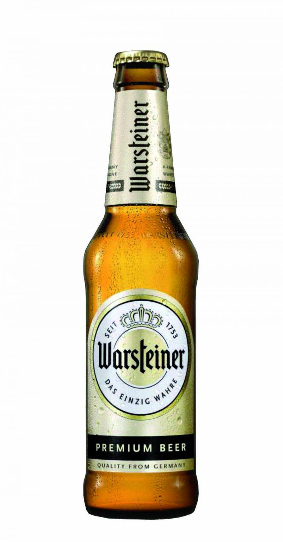La bottiglia ecologica di birra Warsteiner arriva in italia: il nuovo packaging riduce l'impatto ambientale