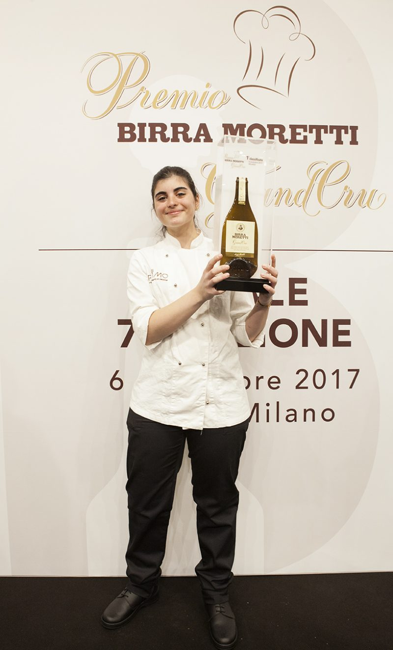 Solaika Marrocco vince il Premio Birra Moretti Grand Cru