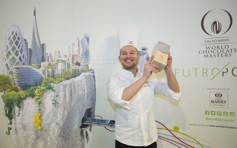 Da Rimini a Parigi, è Maurizio Frau il miglior maître chocolatier d'Italia