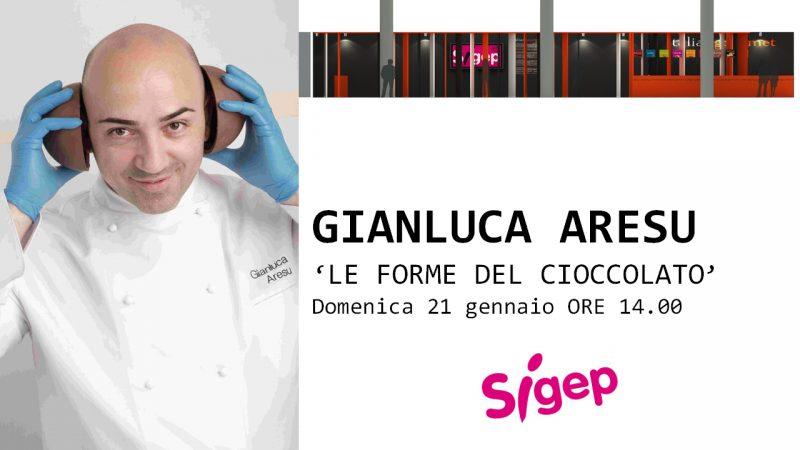 Sigep: Gianluca Aresu presenta Le forme del cioccolato