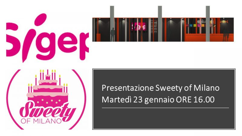 Sweety of Milano a Sigep