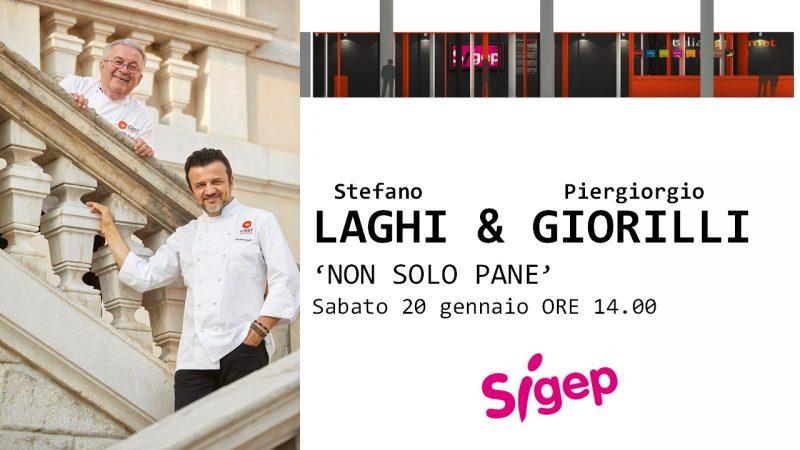 Sigep: Piergiorgio Giorilli e Stefano Laghi presentano Non Solo Pane