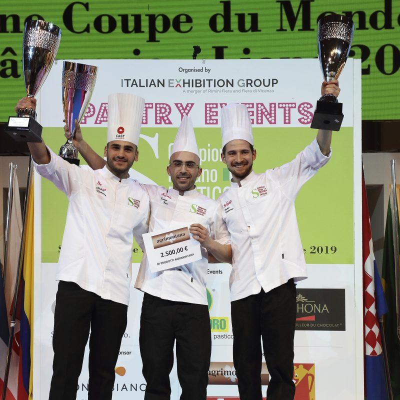 Selezione Coupe du Monde de la Pâtisserie 2019:  proclamato il trio italiano