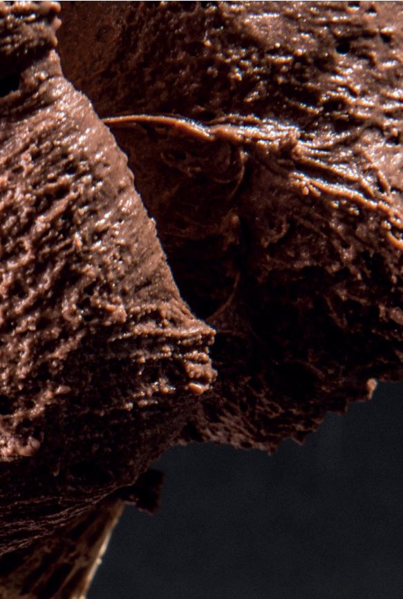 Il Gelato al Cioccolato è nero?