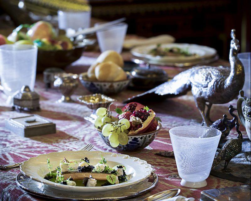 A tavola con Gabriele D'Annunzio. L'insalata dannunziana rivisitata da Matteo Felter