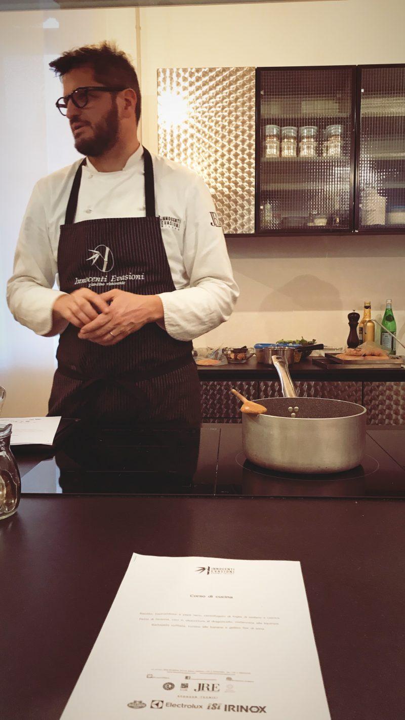 Innocenti Evasioni Gourmet Factory: la scuola di cucina dello chef Tommaso Arrigoni