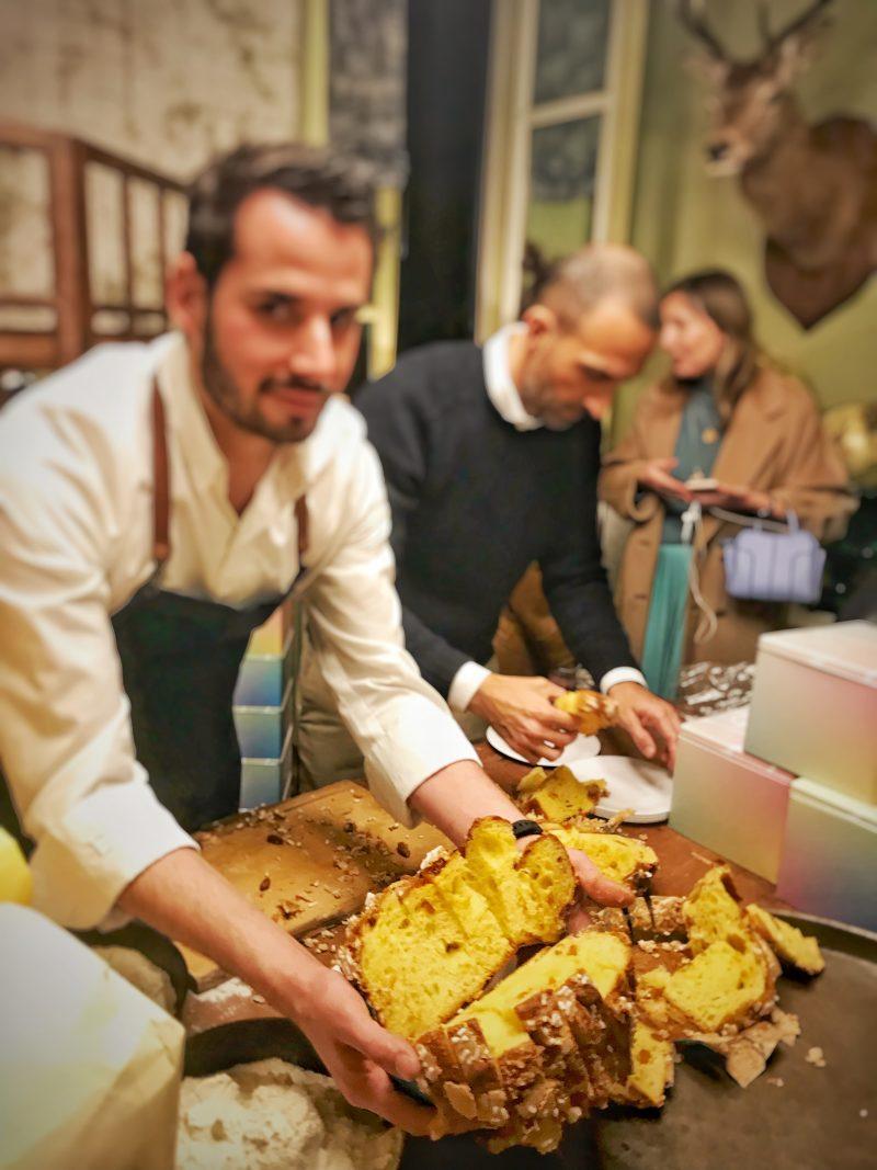 Andrea Tortora sbarca a Milano con l'uovo di colomba