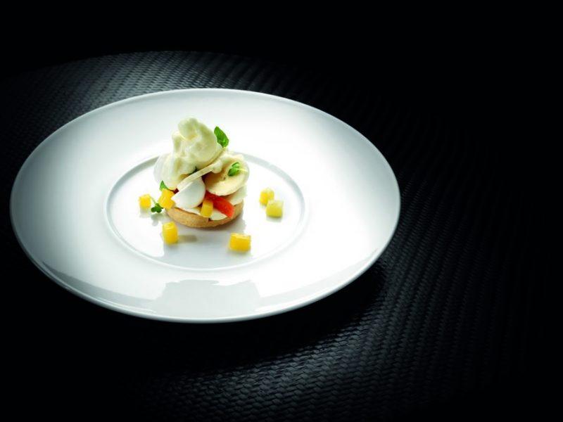 """Dessert """"Sogno d'Estate"""" al Lime, Basilico e Ananas di Gianluca Fusto"""