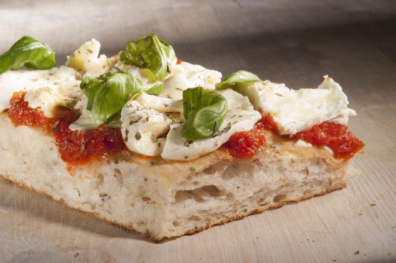 La Pizza Margherita al trancio di Renato Bosco