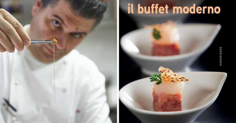 Incontra Beppe Maffioli per saper realizzare un buffet perfetto
