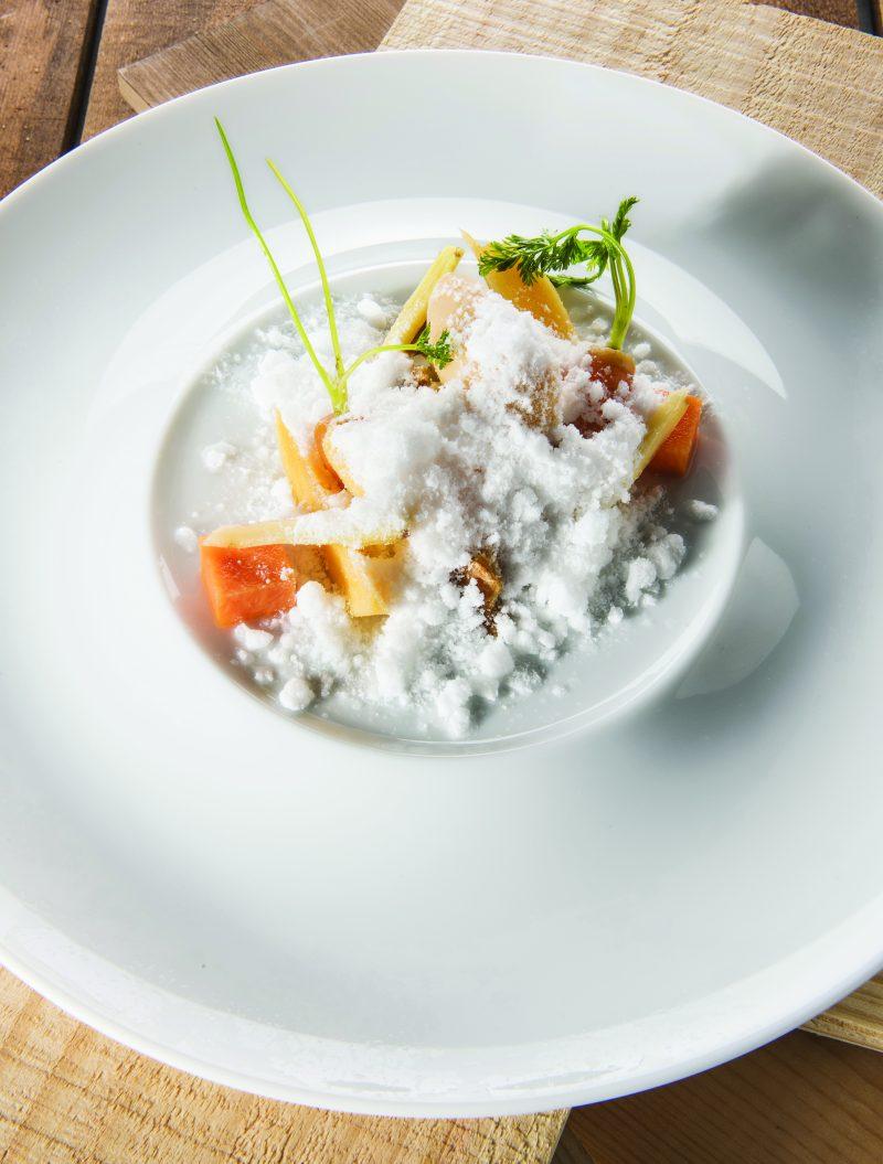Ricetta del Dessert ai cachi, carote e patate dolci