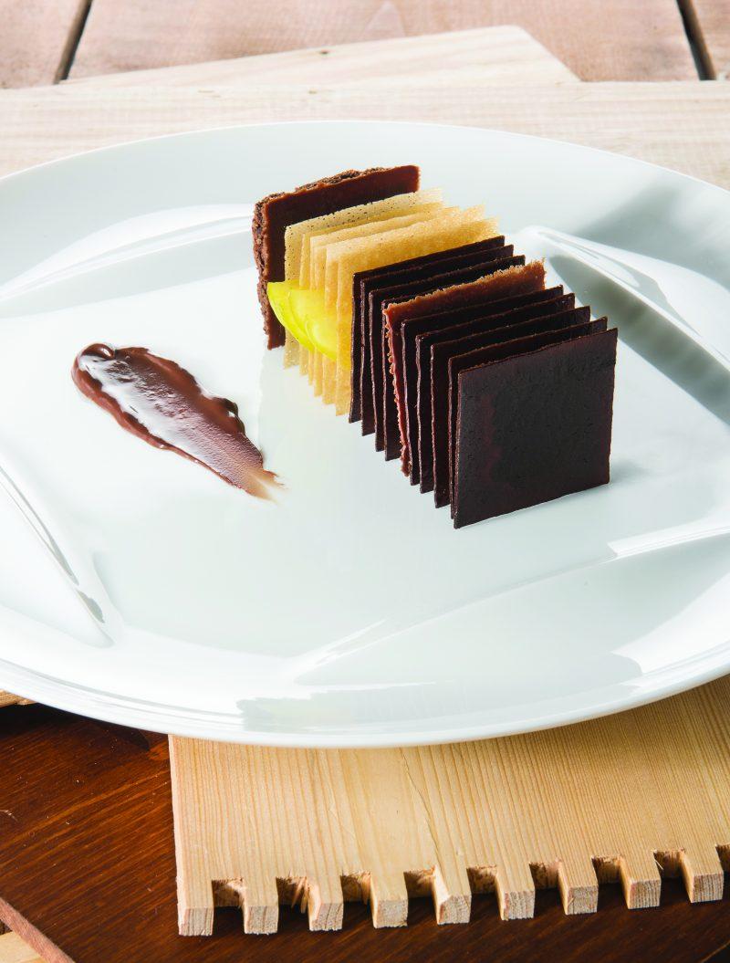 Ricetta di Millesfoglie al cioccolato amaro