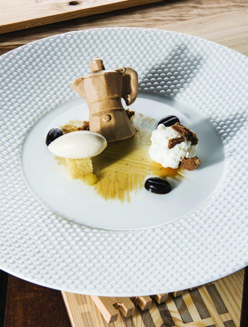 Moka: Cacao, Crema e Concentrato di Caffè