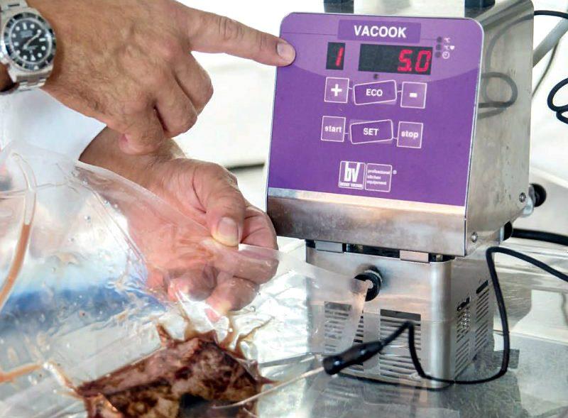 Criteri Per La Cottura Del Pesce Sottovuoto A Bassa Temperatura