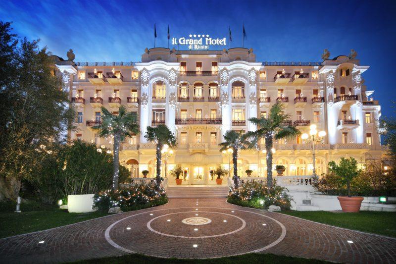 Quando arriva un vip (al Grand Hotel di Rimini)
