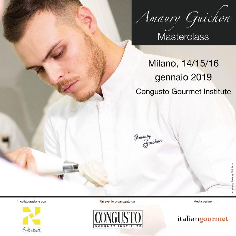 Amaury Guichon, masterclass a Milano