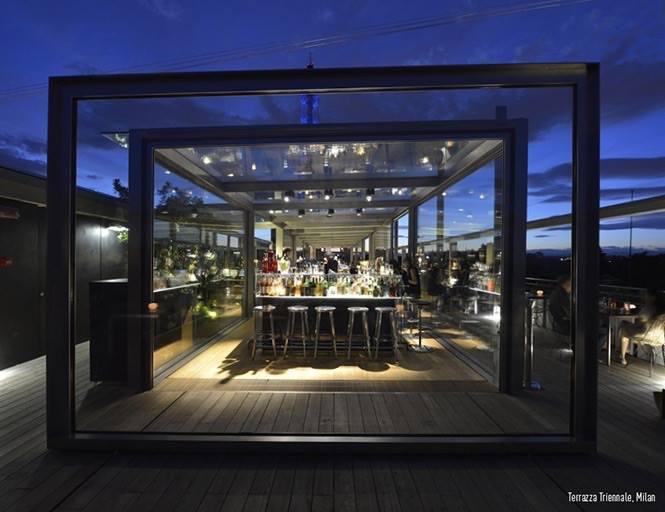 Cenare al museo: Osteria con vista Terrazza Triennale