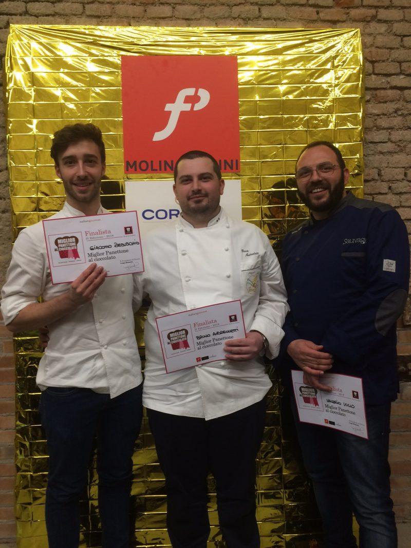 Bruno Andreoletti vince il concorso del Miglior Panettone al cioccolato