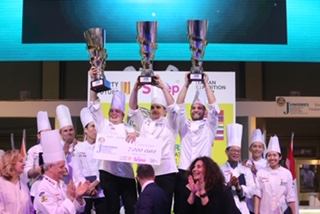 SIGEP: l'Italia vince il Campionato Mondiale Juniores di pasticceria