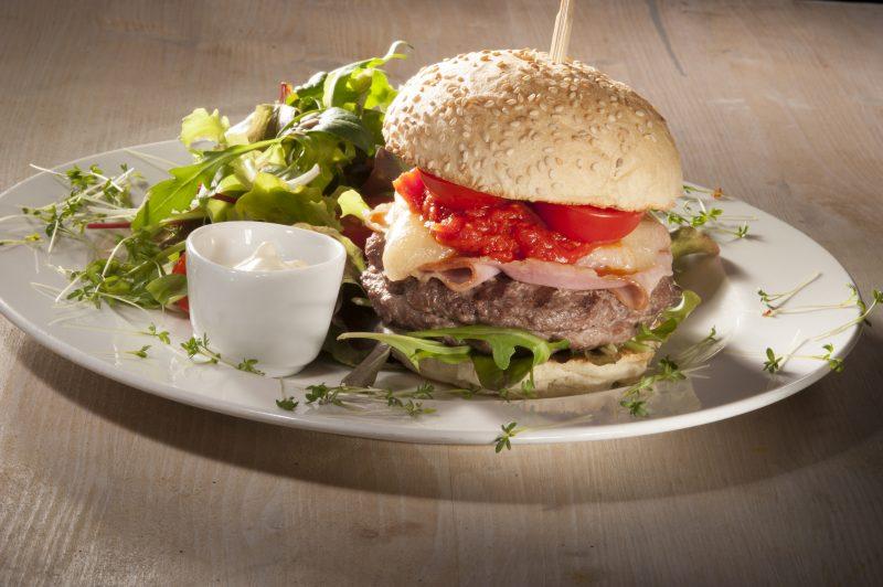 Hamburger farcito di Renato Bosco