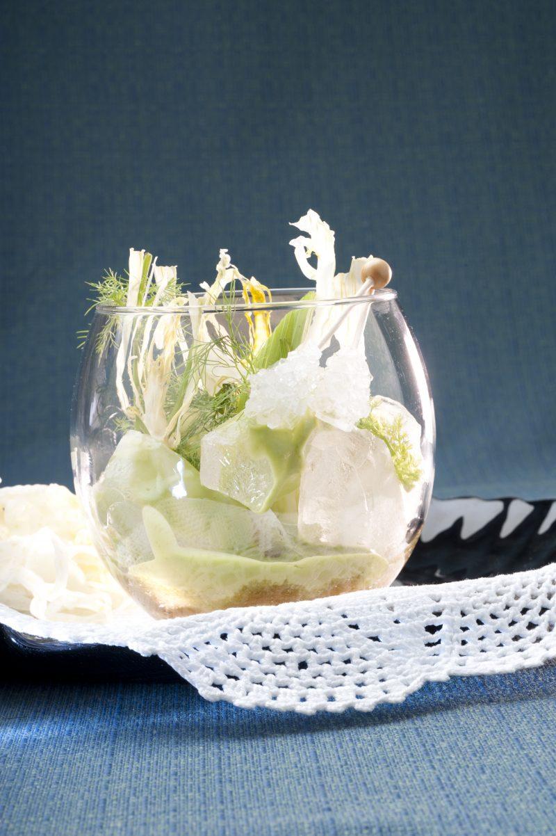 Mojito vegetale: finocchietto e Bacardi