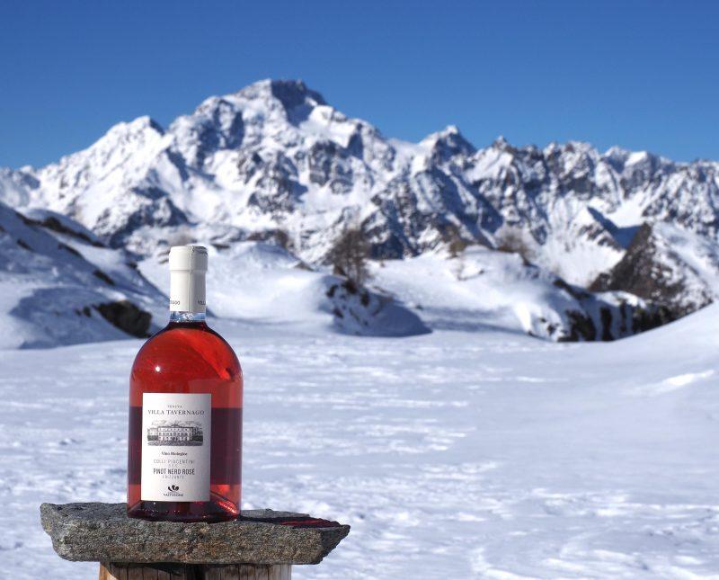 Pinot Nero Rosè frizzante Villa Tavernago di Cantina Valtidone