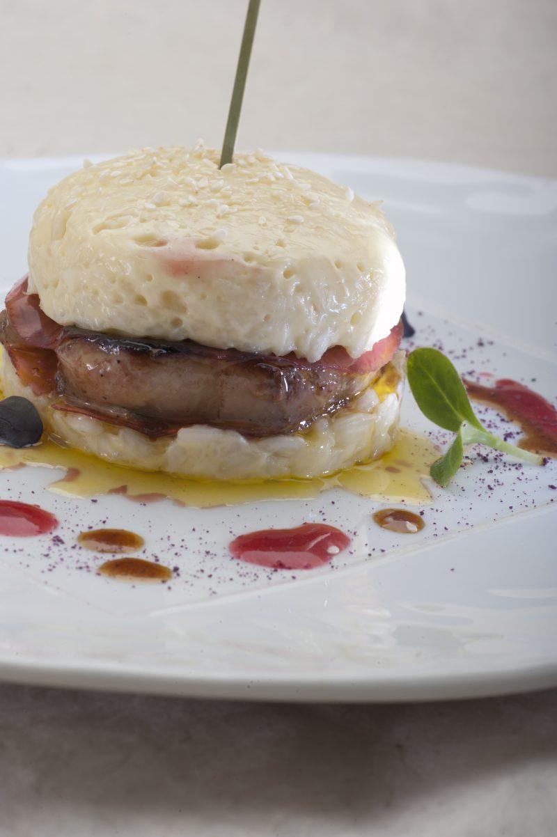 Panino di riso e foie gras di Enrico Cerea