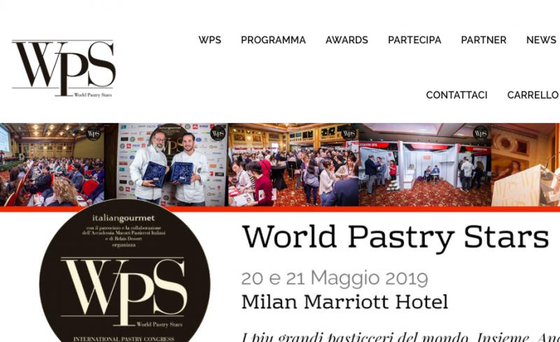 WPS: torna il congresso di pasticceria internazionale a Milano
