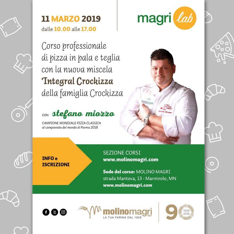 Magrilab: corso professionale con Stefano Miozzo – 11 marzo 2019