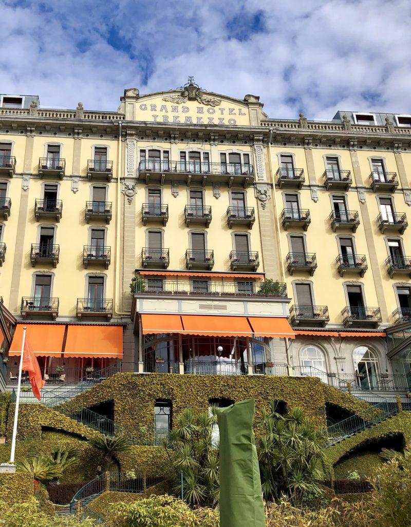 Riapre il Grand Hotel Tremezzo, nel nome di Gualtiero Marchesi