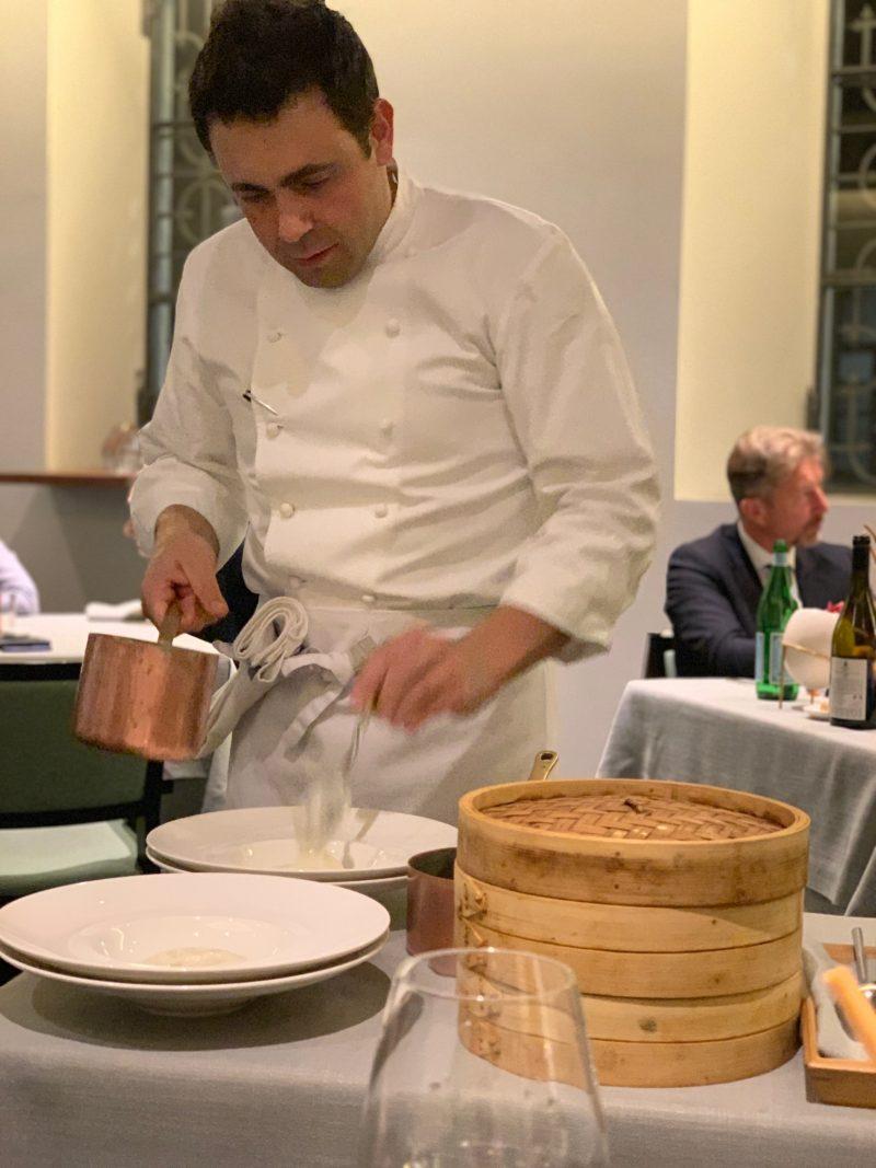 Daniel Canzian: il menu di primavera dello chef milanese