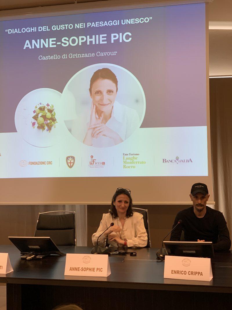 Anne-Sophie Pic, le tre stelle del cuore