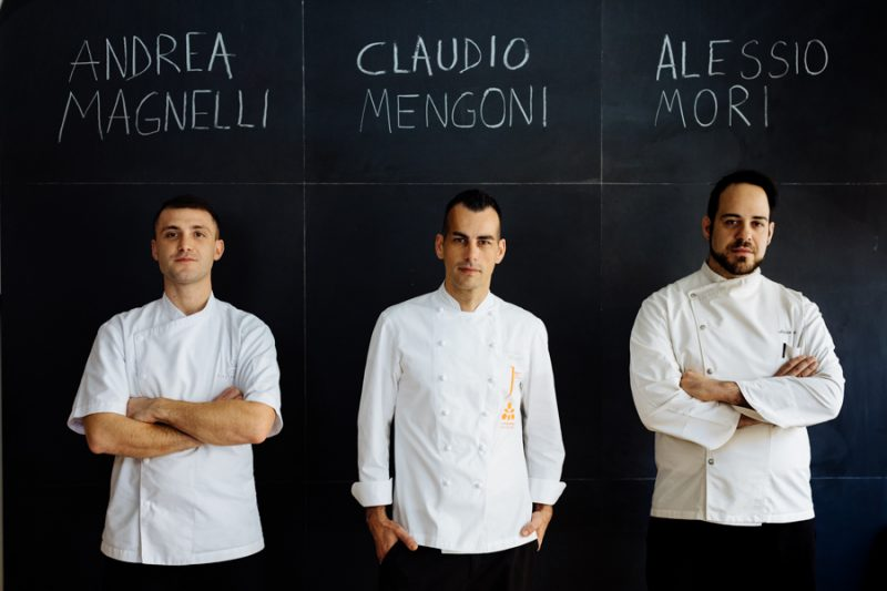Lungarno Collection, tre nuovi chef a Firenze