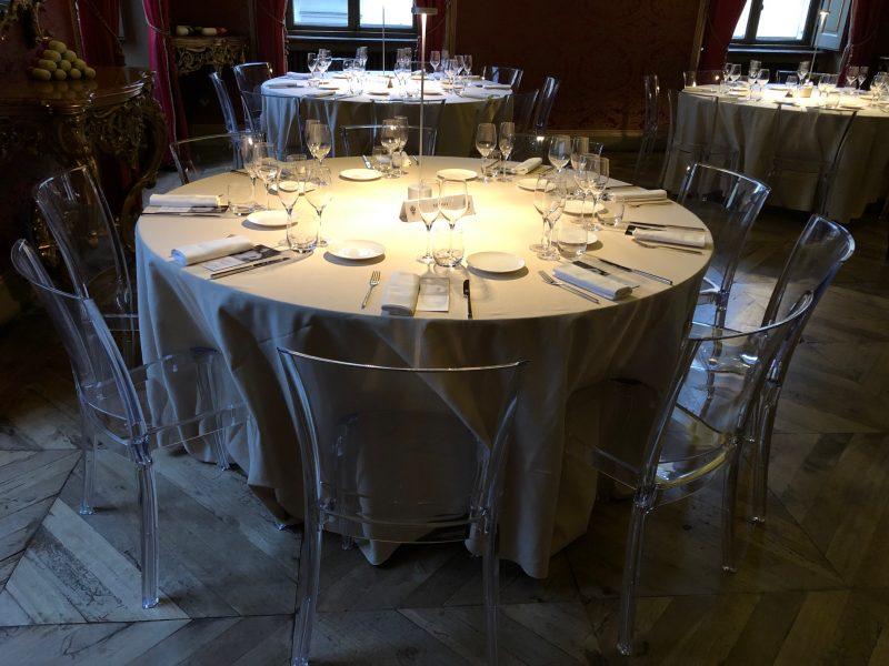 Il più giovane chef di alta cucina della capitale ha cucinato a Torino