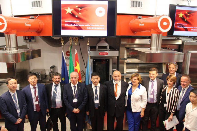 Food: cooperazione tra Italia e Cina