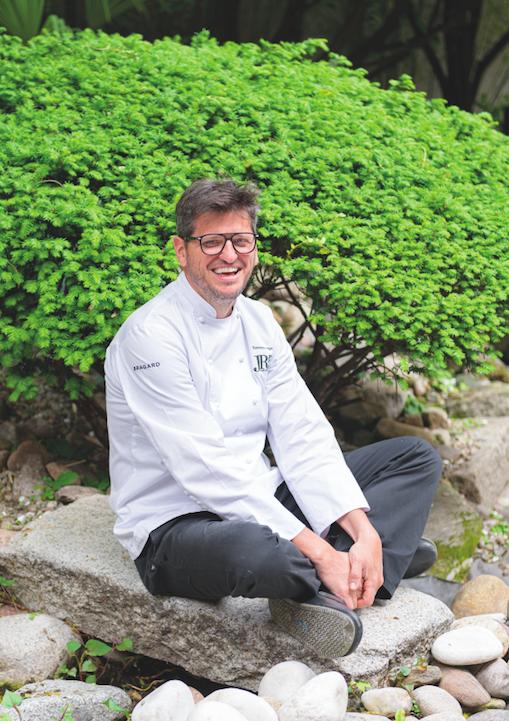 One man cook: Tommaso Arrigoni sulla cover di Grande Cucina